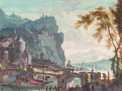 Willem_Troost-_fantasy_Rhine_landscape_with_castle_town